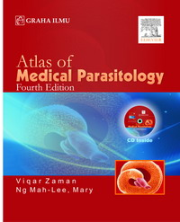 Atlas Of Medical Parasitology; Fourth Edition + CD Viqar Zaman