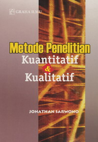 979 756 146 1 200 Metode Penelitian Kuantitatif &amp; Kualitatif Jonathan Sarwonno